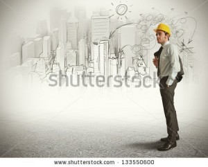stock-photo-city-and-office-sketch-of-an-architect-133550600