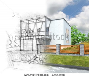 stock-photo-illustration-of-an-idea-and-implementation-of-house-construction-109365068