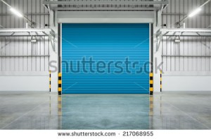 stock-photo-shutter-door-or-rolling-door-blue-color-night-scene-217068955